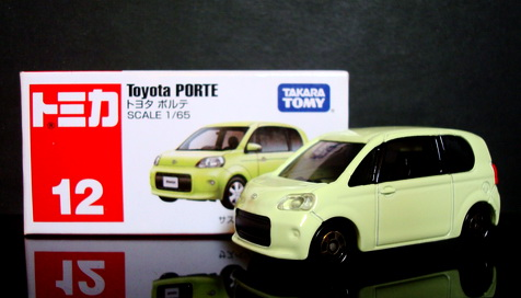 Tomy No 12 Toyota Porte