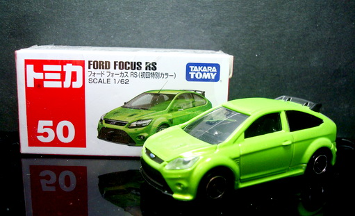 Tomy No 50 Ford Focus RS500 special color