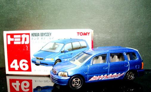 Tomica No 46 HONDA ODYSSEY red tomy label