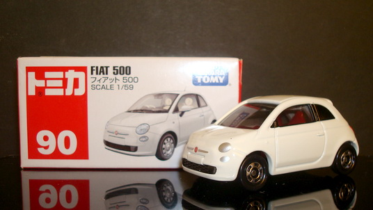 Tomy No 90 Fiat 500
