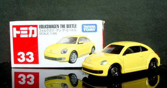 Tomy No 33 Volkswagen The Beetle First Color Edition