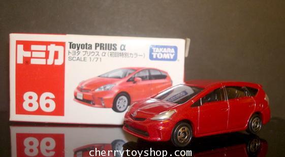 Tomy No 86 Toyota Prius alpha (RED) special color