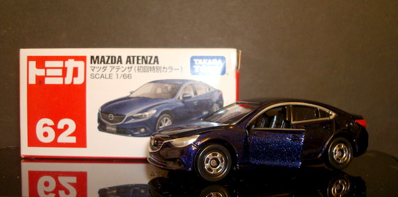 Tomy No 62 MAZDA ATENZA First day color