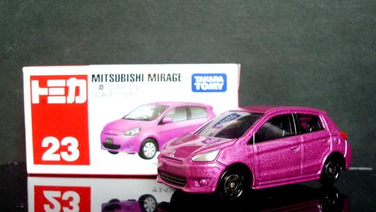 Tomy No 23 Mitsubishi Mirage
