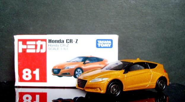 Tomy No 81 Honda CR-Z