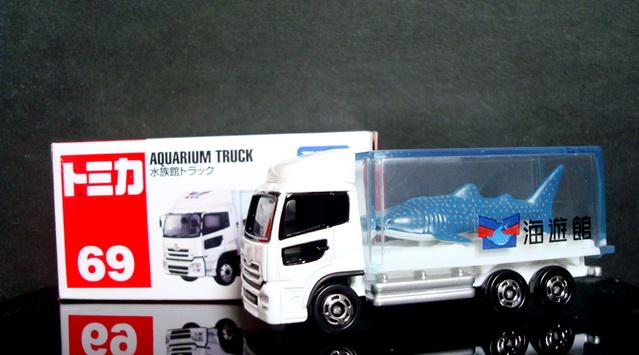 Tomica No 69 AQUARIUM TRUCK