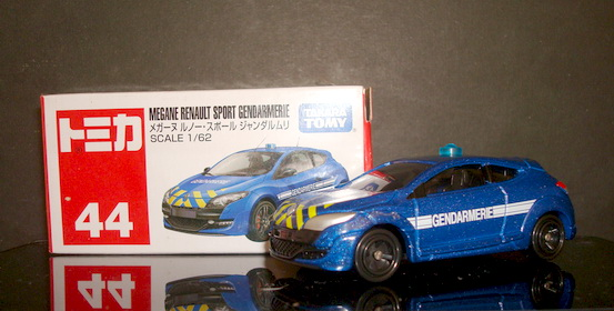 Tomy No 44 Megane Renault Sport Gendarmerie