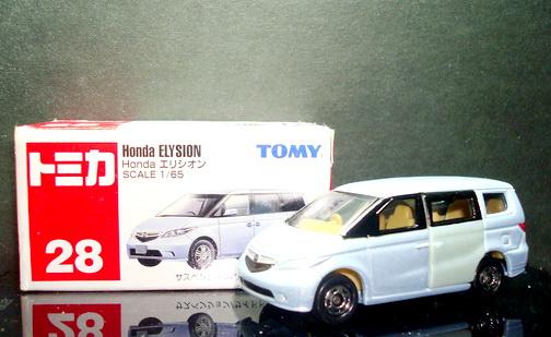 Tomica No28 Honda ELYSION