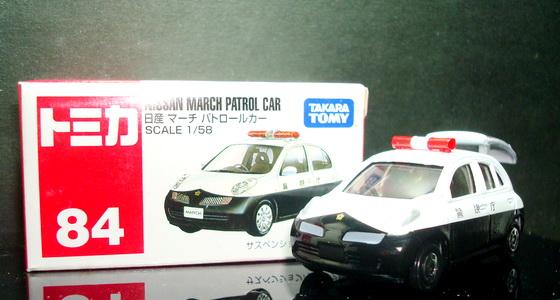 Tomy No 84  NISSAN March Patrol Car