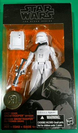 Hasbro black series 6 inch Snow Trooper officer