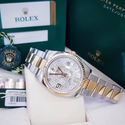 Rolex 116233 ขนาด 36 มิม พร้อมกล่องใบ 2018