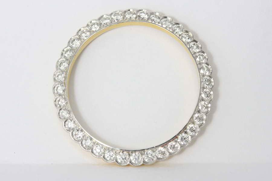 ขอบเพชร นาฬิกา Rolex Lady ทองหนัก 2.30 กรัม เพชร 38x0.03