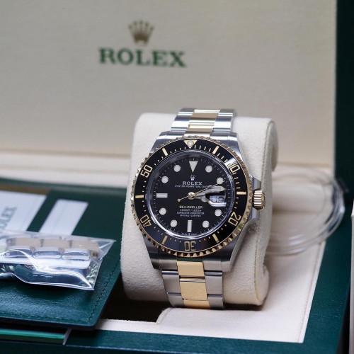 Rolex 126603 Sea Dweller 43 mm. Full Set