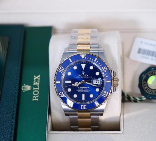 Rolex Submariner 126613LB หน้าน้ำเงินขอบเซรามิก