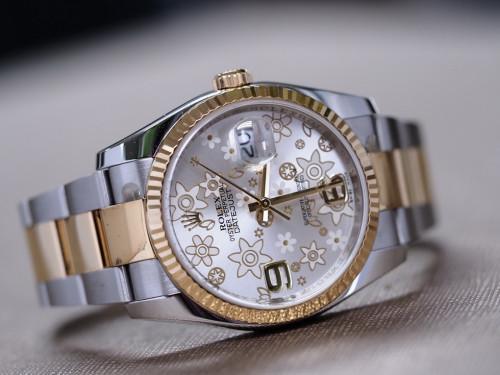 Rolex Date just 116233 บรอนซ์ซากุระ Full Set
