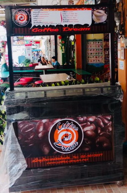 ชุดเปิดร้านกาแฟสดพร้อมเคาน์เตอร์ชุดพิเศษ สู้ภัยโควิด เครื่องชงกาแฟพร้อมเครื่องบด และอุปกรณ์ครบชุด