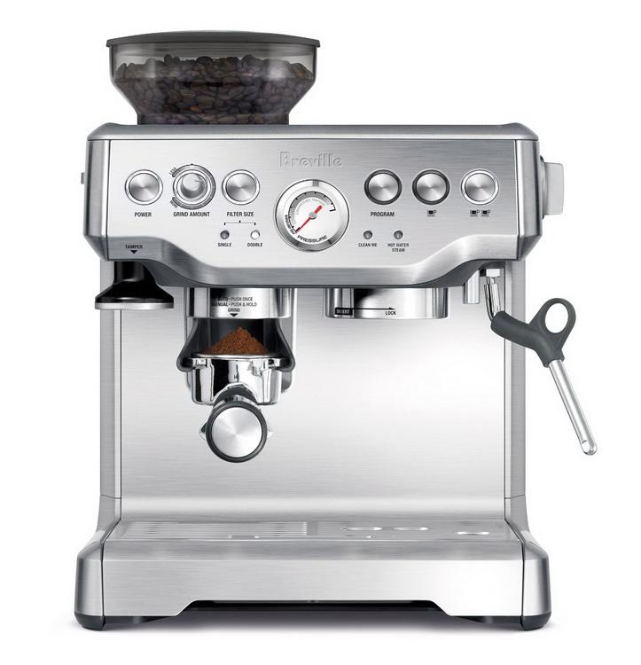 ชุดเปิดร้านกาแฟสดมืออาชีพจากออสเตรเลีย Breville BES870XL อุปกรณ์เปิดร้านครบชุด อบรมฟรี