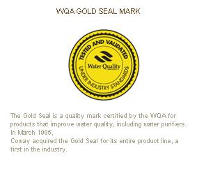 WQA Goal Seal Mark (The Water Quality Association)