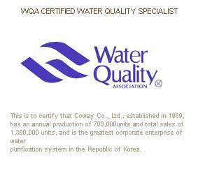 The water Quality Association (WQA)