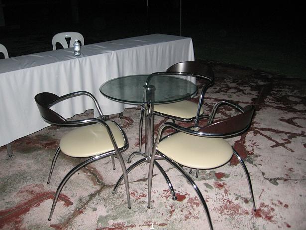 เช่าโต๊ะ เก้าอี้ ชุด Index ให้เช่าชุดปิดการขาย 3