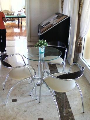 เช่าโต๊ะ เก้าอี้ ชุด Index ให้เช่าชุดปิดการขาย
