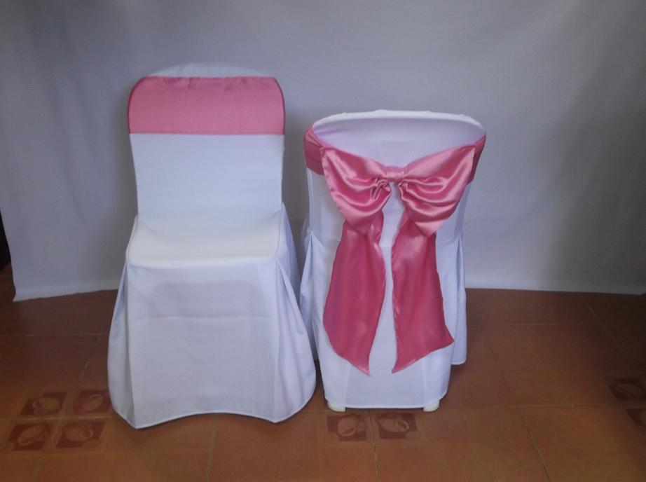 เช่าเก้าอี้ พลาสติกสีขาว คลุมผ้า - ไม่คลุมผ้า ให้เช่าเก้าอี้พลาสติก 23