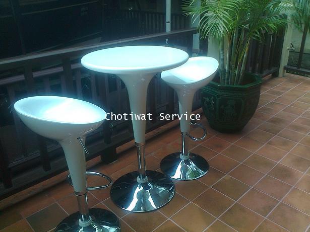 เช่าเก้าอี้สตู เช่าเก้าอี้บาร์ทรงสูง ให้เช่าเก้าอี้ไฟเบอร์ 8