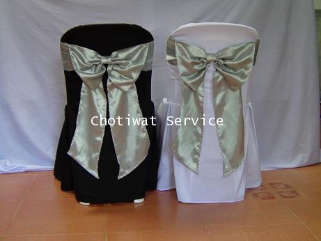เช่าเก้าอี้ พลาสติกสีขาว คลุมผ้า - ไม่คลุมผ้า ให้เช่าเก้าอี้พลาสติก 17