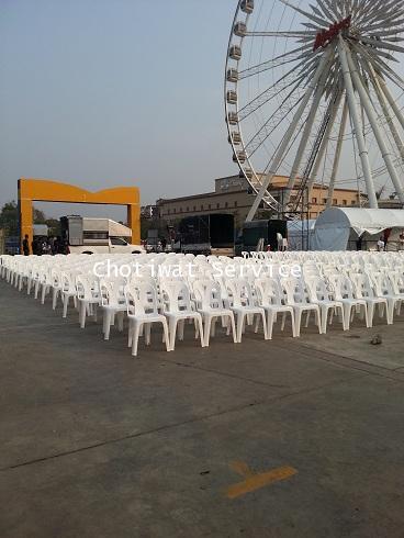 เช่าเก้าอี้ พลาสติกสีขาว คลุมผ้า - ไม่คลุมผ้า ให้เช่าเก้าอี้พลาสติก 28