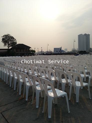 เช่าเก้าอี้ พลาสติกสีขาว คลุมผ้า - ไม่คลุมผ้า ให้เช่าเก้าอี้พลาสติก 29