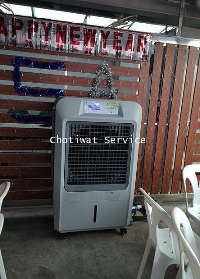 เช่าพัดลมไอเย็น เครื่องทำลมเย็น เครื่องสร้างลมเย็น รุ่น 70EX ใหญ่กว่า เย็นกว่า 3