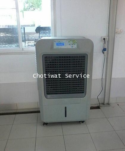 เช่าพัดลมไอเย็น เครื่องทำลมเย็น เครื่องสร้างลมเย็น รุ่น 70EX ใหญ่กว่า เย็นกว่า 4