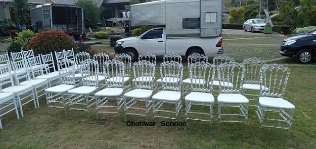เช่าเก้าอี้ชิวารี ให้เช่าเก้าอี้ ชิวารี คริสตัล