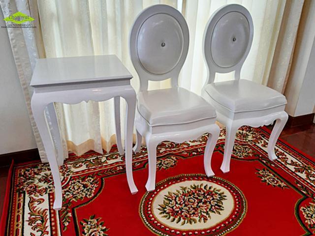ให้เช่าเก้าอี้งานแต่ง 4