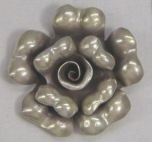 จี้เงินแท้ 99 รูปดอกกุหลาบ A FL 5001-M