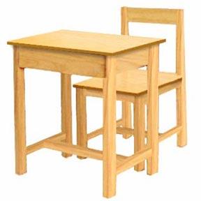 ชุดโต๊ะพร้อมเก้าอี้นักเรียนของเด็กมัธยม, S-33-set,