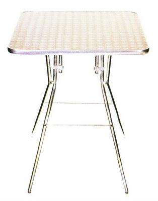 โต๊ะอาหารสแตนเลส โต๊ะสแตนเลสทรงสี่เหลี่ยม T-64 (เลิกผลิต)
