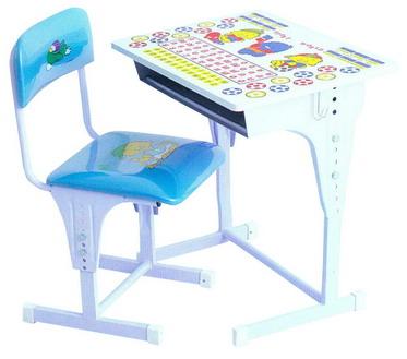 โต๊ะและเก้าอี้นักเรียน อนุบาล ปรับความสูงได้, S-89