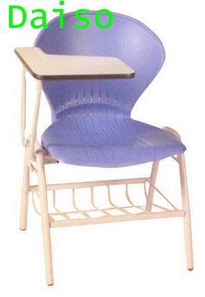 เก้าอี้เลคเชอร์ เก้าอี้เลคเชอร์เหล็ก เก้าอี้เลคเชอร์เหล็กมีตะแกรงวางของ/LC-22