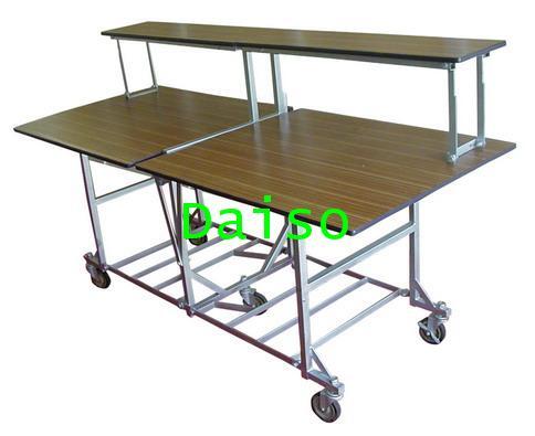 โต๊ะพับสำหรับจัดอาหารบุฟเฟต์ T-BF-01