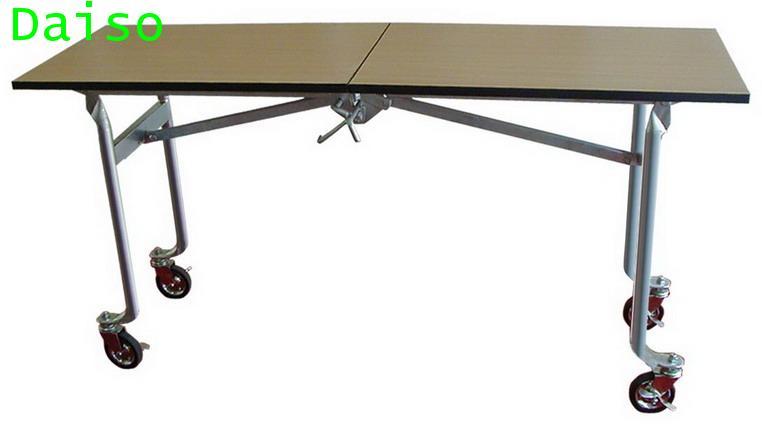 โต๊ะจัดเลี้ยงพับได้ มีล้อ R-7