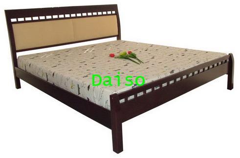 DS Rubber wood Bed-2, เตียงไม้ยางพารา