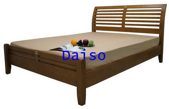 เตียงไม้ยางพารา DS Rubber wood Bed-3