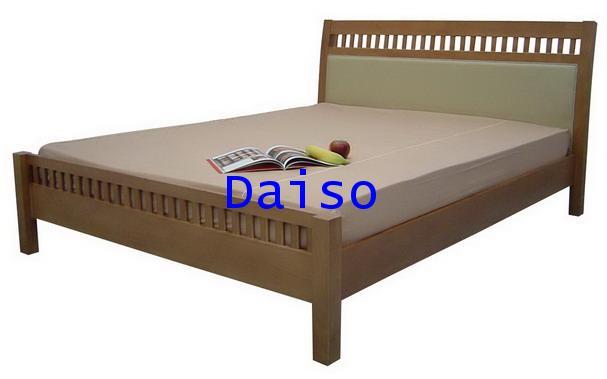 DS Rubber wood Bed-4, เตียงไม้ยางพารา