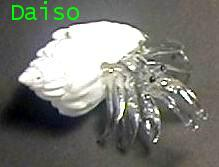 งานเป่าแก้วรูปปูเสฉวน ขนาดเล็ก รหัส SH Glass 15-S
