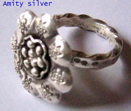 แหวนชาวเขารูปดอกไม้, R PD-002
