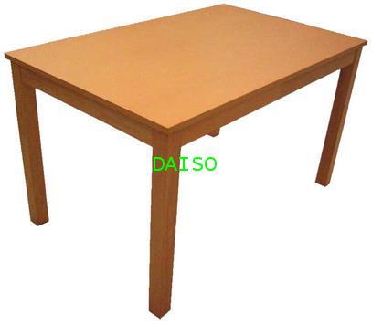 โต๊ะอาหารลายไม้บีช, DPT-071