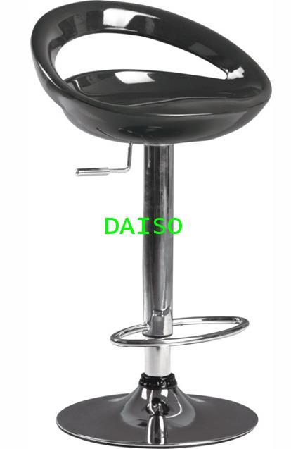 เก้าอี้บาร์ขาแชมเปญ/D-AB-017_เก้าอี้ บาร์ที่นั่งABS