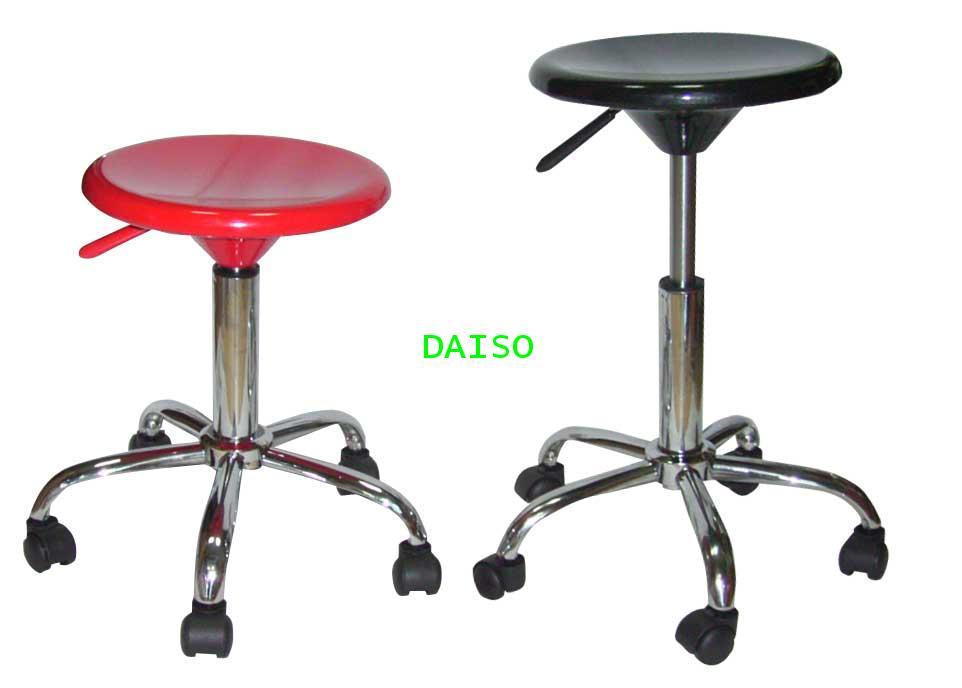 D-AB-013_เก้าอี้สตูลบาร์เตี้ยมีล้อ/เก้าอี้สำนักงาน,เก้าอี้สตูลเตี้ยปรับระดับสูงต่ำได้