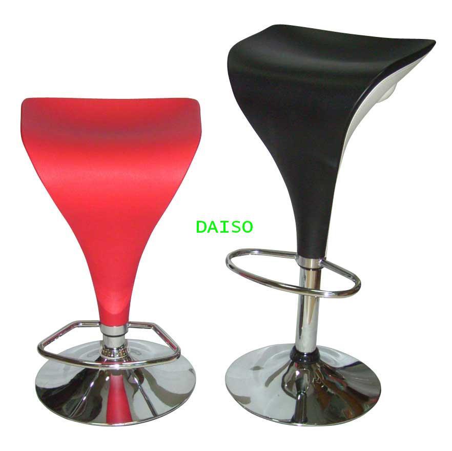 เก้าอี้สตูลบาร์เบาะหุ้มหนังเทียมD-AB-018 PVC/เก้าอี้สตูลบาร์หุ้มพีวีซี